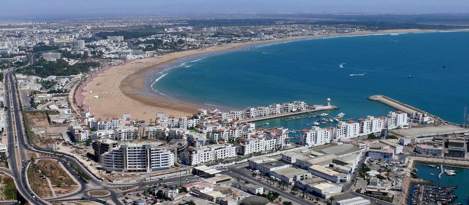Visite de ville d'Agadir